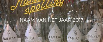 'EAU EAU Den Haag' winnaar Namespotting Naam van het Jaar 2017