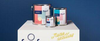 Fairf duurzame verf is 'Namespotting Naam van het Jaar 2019'